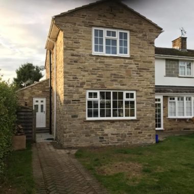 Double Storey Stone Extension, Wetherby